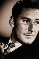 Famous son ... Errol Flynn grew up in Hobart.