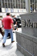 News Corporation shares still outshine market slump.