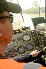 Driver Ray Hunt.