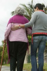 Helping hand ...  in every community, Australians give time to look after each other.