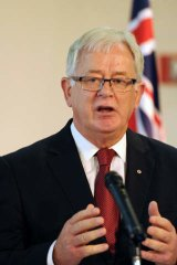 Trip to Russia cancelled: Trade Minister Andrew Robb.
