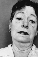 Writer Dorothy Parker (1958).