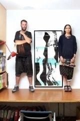 In style: Misha Hollenbach and Shauna Toohey.