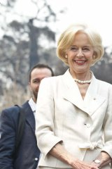 Passionate: Governor-General Quentin Bryce.