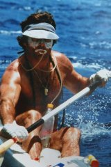 Peter Lavac ... the fitness fanatic paddled from Hong Kong to the Philippines in 1990.