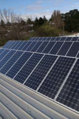 Move away from protectionism ... the tariffs on solar panels are set to be cut.