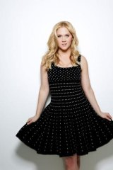 Ready to share: Amy Schumer.