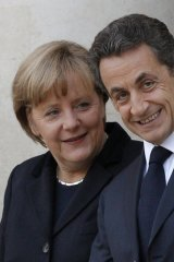 'If the EU is a family, it is becoming clear Merkel and Sarkozy are Mama and Papa.'