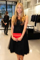 Family first: Collette Dinnigan has explained she has closed her couture line to pursue family life.