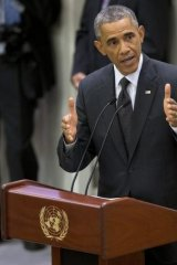 """""""The only language understood by killers like this is the language of force"""": Obama."""