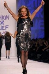 Designer Diane Von Furstenberg.