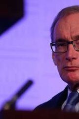 """""""Hard-edged"""": Bob Carr says tribunals and courts will have less discretion when reviewing the asylum claims of boat people."""
