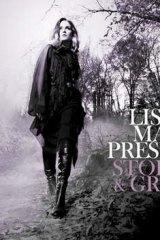 The cover of Lisa Marie Presley's album <I>Storm & Grace</I>.