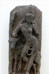 Doubtful provenance: Aradhnareshwara statue in the Art Gallery of NSW.