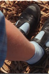 A toxic chemcial has been found in imported children's school shoes.