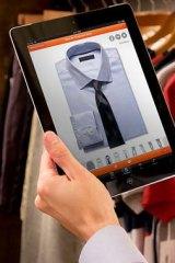 A screen shot of Handshake displaying a catalogue clothing item.