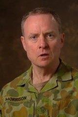 Chief of Army David Morrison.