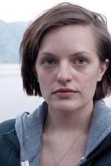 Elisabeth Moss in Foxtel's <em>Top of the Lake</em>.