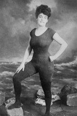 Bathing beauty ... Annette Kellerman.