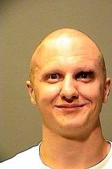 Maniacal ... Jared Lee Loughner's police mugshot.