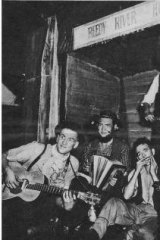 Paradox: The Bushwhackers promoted a 'blokes, beards and bottletops' image of Australian folk music.
