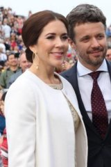 Princess Mary and Prince Frederik in Sydney in 2013.