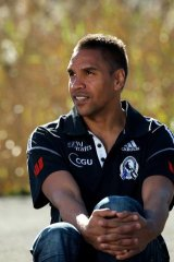 Collingwood's Andrew Krakouer: 'I reckon there were a few times I thought about giving it away this year.'