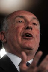 Warren Truss, leader of the National Party.