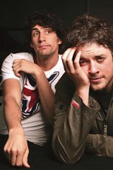 Popular radio duo Hamish and Andy.