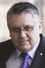 Talkback radio: Ray Hadley, who is being sued for defamation.