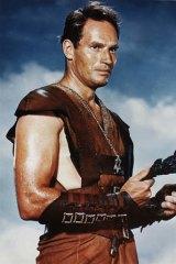 Charlton Heston in <i>Ben Hur</i>.