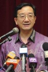 Chinese Ambassador to Malaysia Huang Huikang.