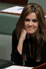 Peta Credlin, 40, Abbott's strong-willed chief of staff and Loughnane's wife, who infamously interjected in federal parliament from the adviser's box.