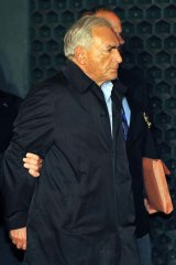 Ex-IMF head Dominique Strauss-Kahn.