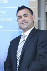 """""""There are gaps that individuals have in their life story and life journey where donors play a role, and they feel they are entitled to that information"""": Nationals MP John Barilaro."""
