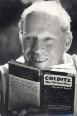 Map maker: Jack Millett planned and executed daring escapes from several camps before being sent to Colditz.