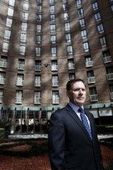 """Our Sydney CBD hotels were all close to 100 per cent capacity"": Simon McGrath."