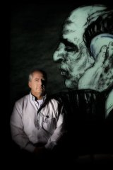 William Kentridge prefers to work in black and white.'I can't think in colour,' he says.