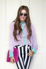 Jess Dadon, fashion blogger.