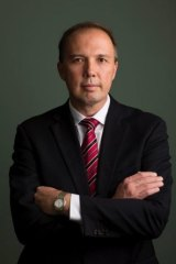 """Health Minister Peter Dutton: """"We will take care of those that can't take care of themselves."""""""