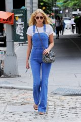 Blue jean baby ... Victoria's Secret model Elsa Hosk.