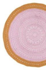 Le De Dah Kids' crochet vintage rug.