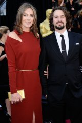 Director Kathryn Bigelow and screenwriter Mark Boal.