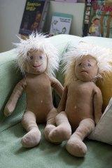 Gender neutral ... Egalia's pedagogic emotion dolls.