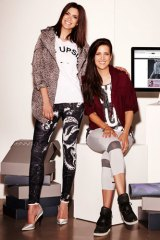 Julie and Sali Stevanja from Stylerunner offer same-day delivery.
