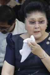 Inspiration: The steel butterfly of the Philippines, Congresswoman Imelda Marcos.