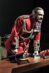 Extraordinary: Martin Freeman on the London stage in Shakespeare's <i>Richard III</i>.