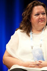 Gina Rinehart is the richest Australian in the Forbes list at No.36.