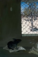 Arthur Boyd: <i>Interior with Black Rabbit</i>.