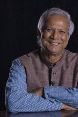 Professor Muhammad Yunus.